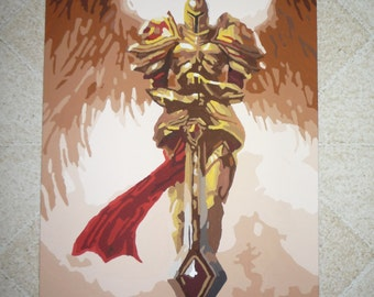 League of Legends Kayle Painting
