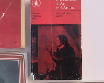 Vintage A Dictionary of Art and Artists, Penguin Reference Book, 1959.
