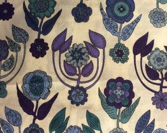 Tana lawn fabric from Liberty of London, Droxford