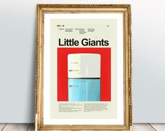 Little Giants Mid-Century Modern Inspired Print