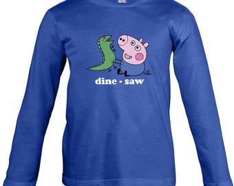 Peppa Pig - George Long Sleeves T-shirt for children - available in many sizes and colours