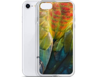 Macaw Feather iPhone Case