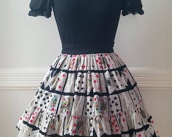 Deck of Cats Lolita Skirt