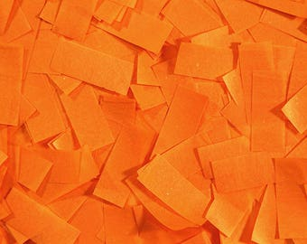 Orange Tissue Confetti