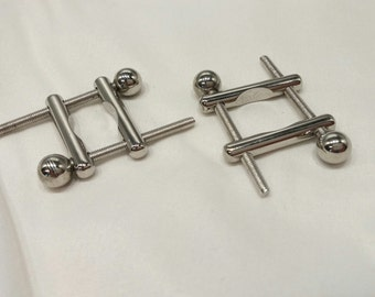 MATURE CONTENT Solid Stainless Steel Nipple Clamps, BDSM Toy, Adult Toy, Nipple Toy