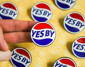 Yes By Newfoundland Enamel Pin // Sticker // Iron On Patch