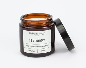 Travel Soy Candle - Winter (120ml)