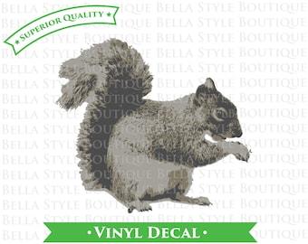 Squirrel VINYL DECAL