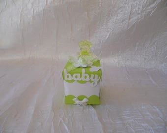 """Box dragees Apple green """"without the sweets"""""""