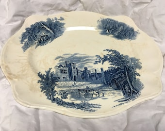 Beautiful and Historic Blue & White Tray