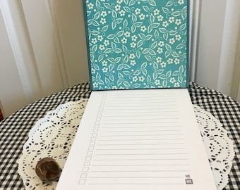 Teal flower to do list