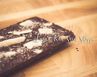 Raw carob chocolate bar sugar free - Mother's Day treats - Easter -