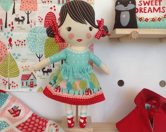 Red Riding Hood Fairytale Doll and Accessories