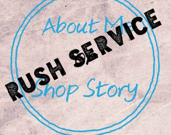 SEO About Me Page / Shop Story with RUSH SERVICE