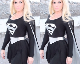 Dark Supergirl Costume Evil Bad