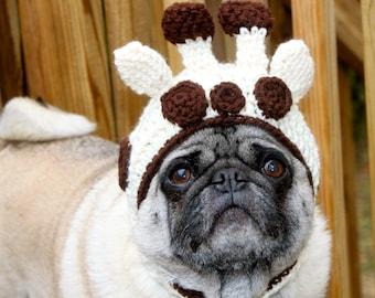Dog Hat  - Giraffe / Made To Order
