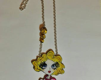 Super Women's line necklace mod. Marilyn