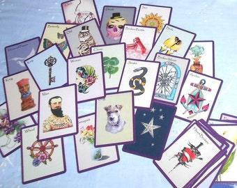 Bella Gypsy Fortune Telling Oracle 38 Cards by Lynn Boyle. Brand New. Self Published.
