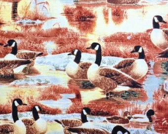 Duck Duck Goose Canadian Pond   Nature Wilmington Fabrics By the Yard