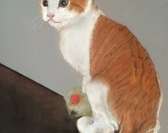 11x14 Custom pet & wildlife portraits hand painted with pastels/dogs/cats/  puppys/kittens/horses/from your photographs