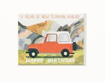 New Terrain Birthday