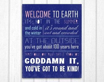 Kurt Vonnegut Quote: Print