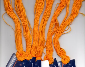 Lava - Stellar Fibers -  Hand Dyed Threads