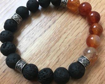 Sacral Chakra diffuser bracelet