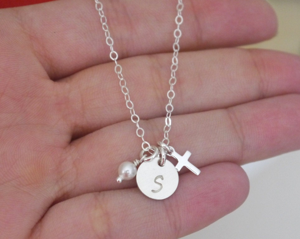 engraved girl pendant birth date necklace baby name disc