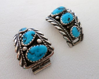 Watch Tips, Sterling Silver Turquoise, Cowgirl Cowboy Watch Band, December Birthstone, Southwestern Country Western Wear Boho, ID 401587341