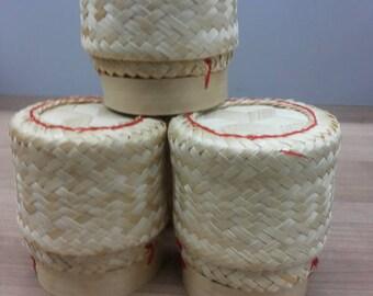 3X  Thai Handmade Sticky Rice