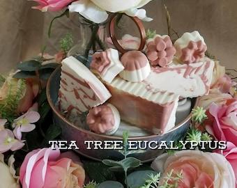 Tea Tree Eucalyptus Soap/ Scented Soap/ Handmade Soap