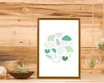Designed Nature Print