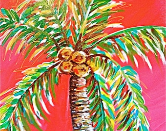 Tropical Punch Palm Tree