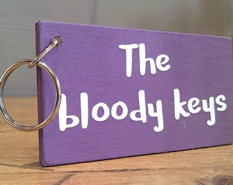 The Bloody Keys. Keyring