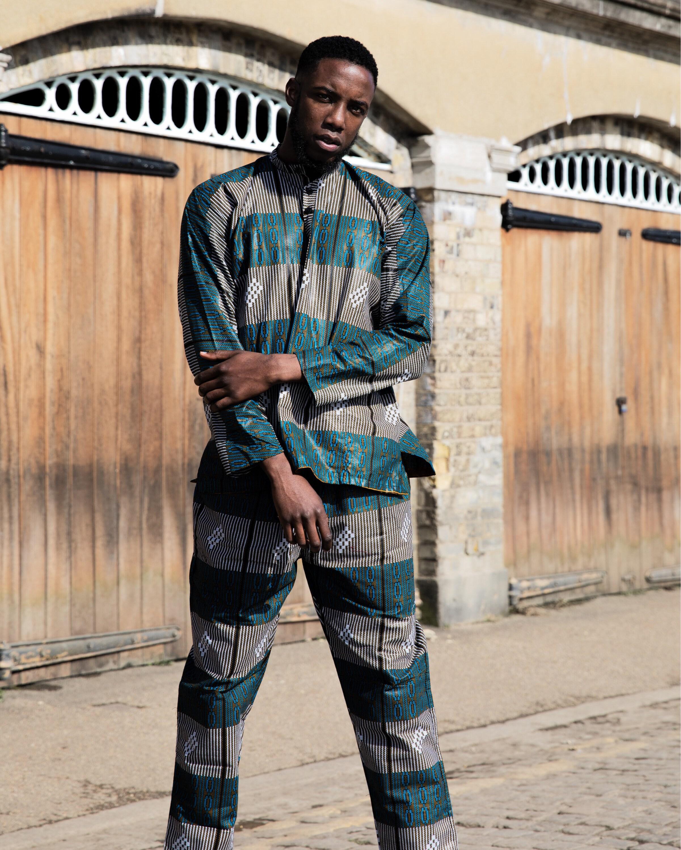African Top Ethnic Shirt African Shirt Kente Shirt Festival Shirt 90s Clothing Boho Clothing Funky Shirt African Clothing Mens Shirt JADSO