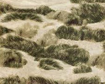 RJR Fabrics; 'Sand Dunes' Fabric by the Yard, Danscapes by Dan Morris, 2410-1