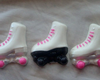 Chocolate Roller Skate Cupcake Toppers