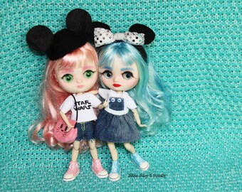 Middie Blythe Custom - Pack of two middies with clothes