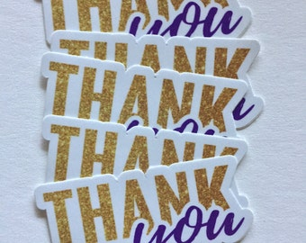 Thank You sticker for planners, notecards & gratitude reminders