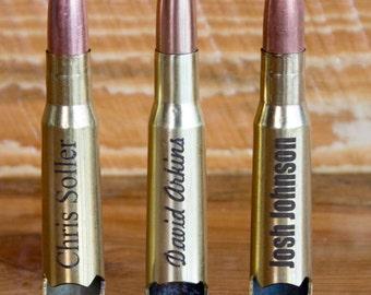 Bullet Bottle Openers, Groomsmen Gift, 8 50 Cal Custom Engraved Bottle Openers, Personalized Groomsmen Gifts,  USMC Bottle Opener