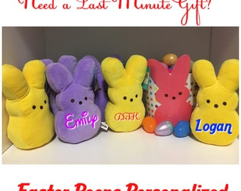 Easter Peeps Personalized