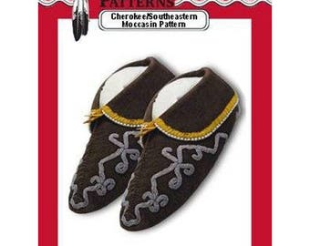 Cherokee / Southeastern Moccasins