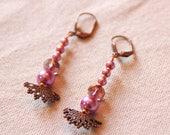 Fancy Pearl Earrings Pear...