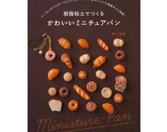 Miniature Bread Craft Japanese Book - Miniature Pan