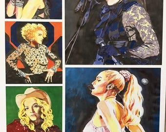 The 5 Faces of Madonna