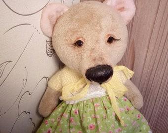 Teddy bear handmade toys