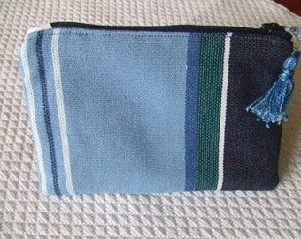 Wallet 'Sun cloth' blue
