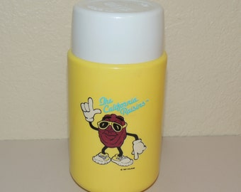 1987 California Raisins Thermos
