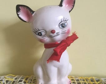 Vintage Rare Holt Howard Cat figurine